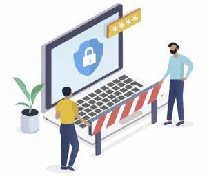 Laptop protection online security VPN